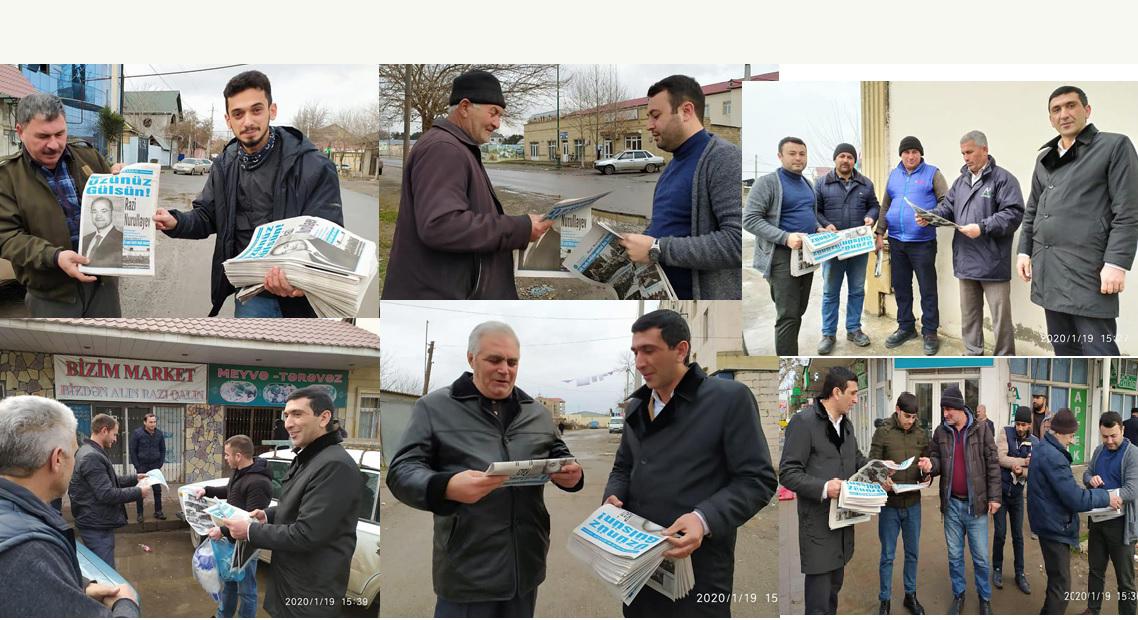 Razi Nurullayevin vəkilləri İmişlidə- FOTOLAR
